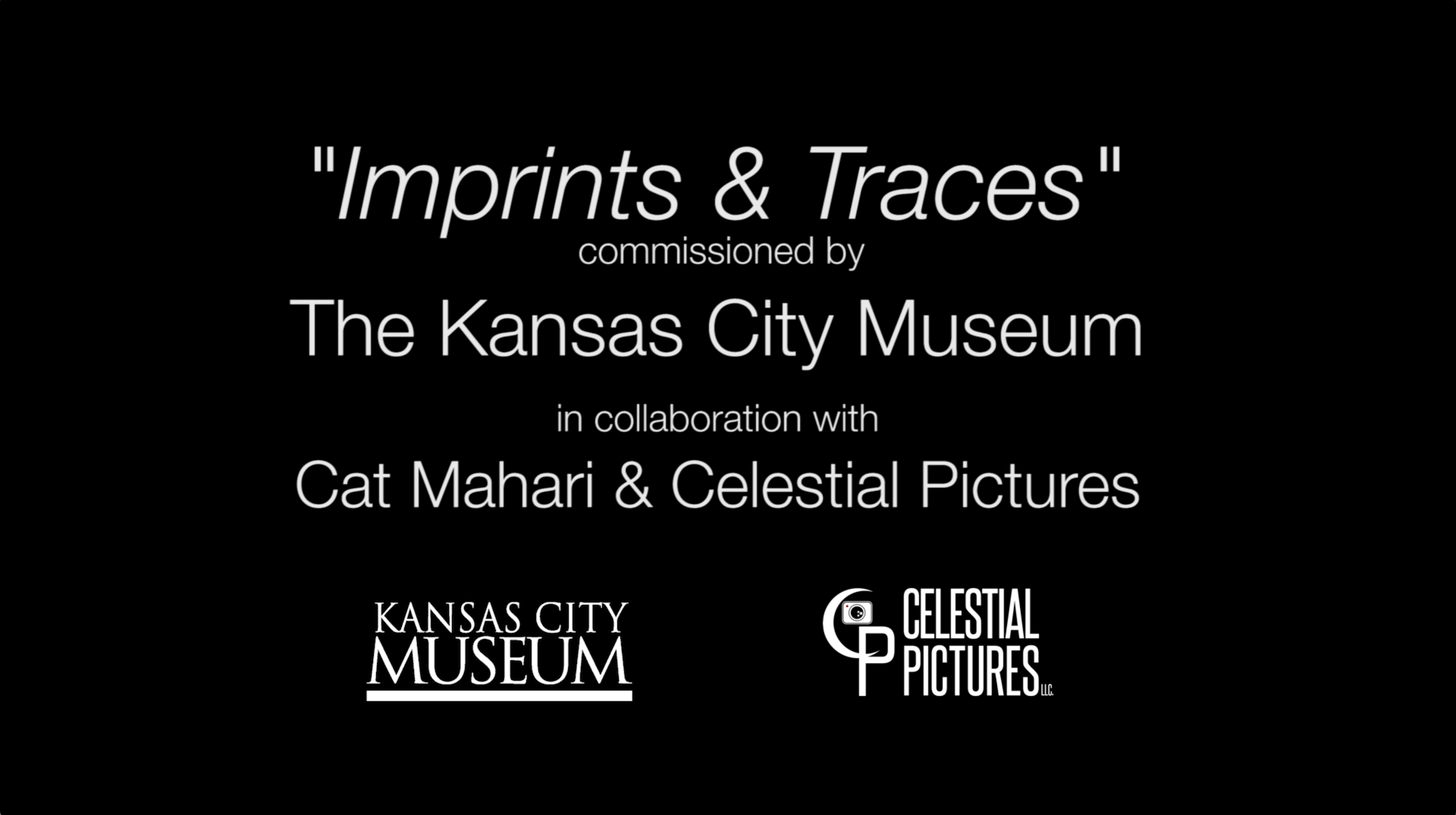 Imprints & Traces commissioned by the Kansas City Museum