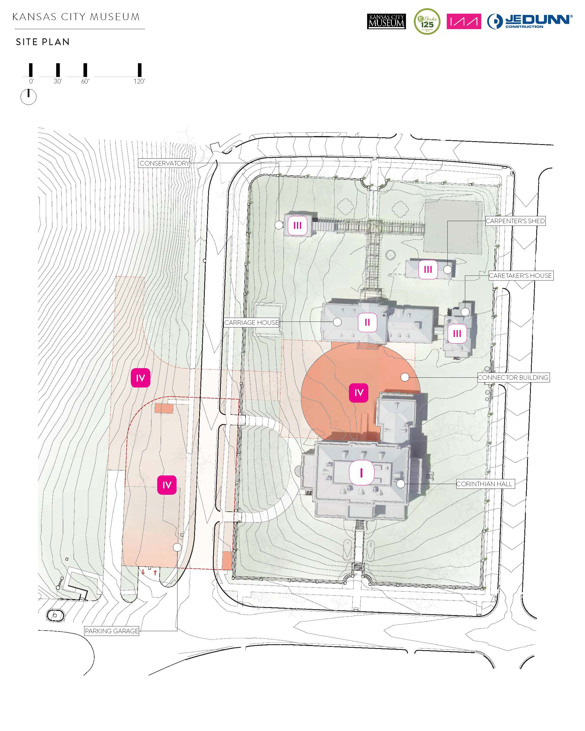 Kansas City Museum Site Plan